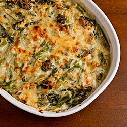 Asparagus and Chard Gratin - Andrea Meyers