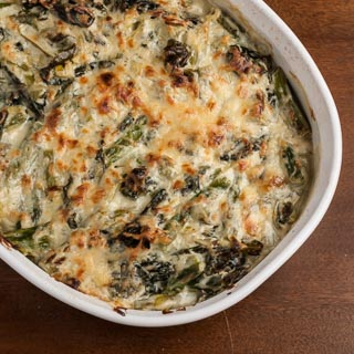 Asparagus and Chard Gratin (Grow Your Own)