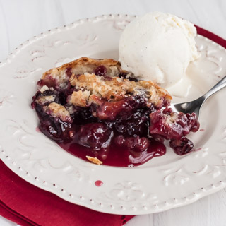 Cherry Pudding Cake, for Jennie