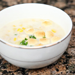 Corn Chowder with Bacon (Moovision) - Andrea Meyers