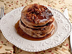 Andrea Meyers - Pecan Pancakes with Butter Pecan Syrup