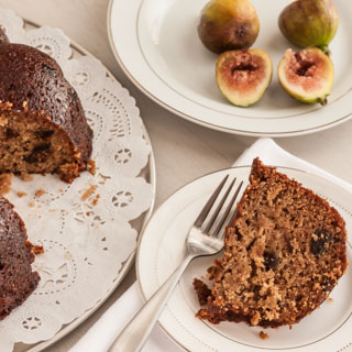 The Farm Project: Ticonderoga Farms Fig Lovers Feast (Fig Bundt Cake with Honey Butter Glaze)