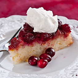 Andrea Meyers - Cranberry Orange Upside Down Cake