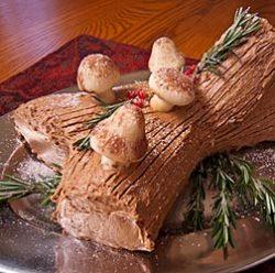 Andrea Meyers - Buche de Noel (Yule Log Cake)