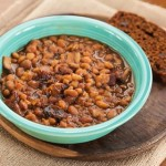 Slow Cooker Boston Baked Beans Recipe (Kids Cook Monday) - Andrea Meyers