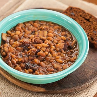 Slow Cooker Boston Baked Beans (Kids Cook Monday)