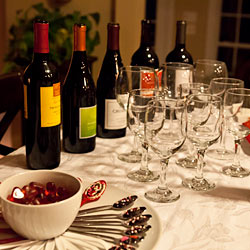 Girls' Wine and Food Tasting Night