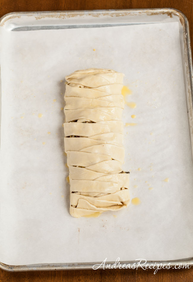Prepared breakfast braid - Andrea Meyers