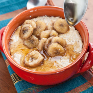 Banana Maple Grits