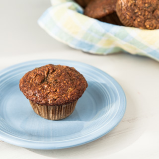 Whole Wheat Zucchini Morning Glory Muffins