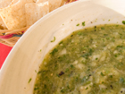 Andrea Meyers - Roasted Green Tomatillo Salsa (Salsa Verde)