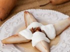 Andrea Meyers - Cider Honey-Roasted Pears with Vanilla Greek Yogurt