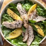 Thai Grilled Chicken Salad with Mango - Andrea Meyers