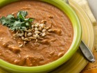 Andrea Meyers - Curried Peanut, Sweet Potato, and Tomato Soup