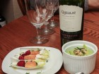 Andrea Meyers - A Night of Food from Chile (Chilled Avocado Soup); Frank Stoehrer, photographer