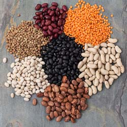 Dry Beans and Legumes Cooking Chart