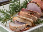 Roasted Bacon-Wrapped Pork Tenderloin - Andrea Meyers