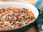Butternut Squash Au Gratin Recipe with Mushrooms and Bacon - Andrea Meyers