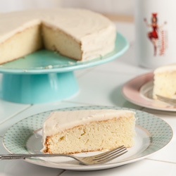 Caramel Cake Recipe with Caramelized Butter Frosting - Andrea Meyers