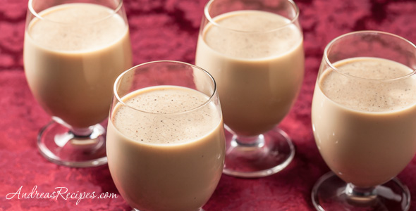 Irish Coffee Eggnog Recipe - Andrea Meyers