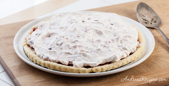 Orange Cranberry Fool Tart Recipe - Andrea Meyers