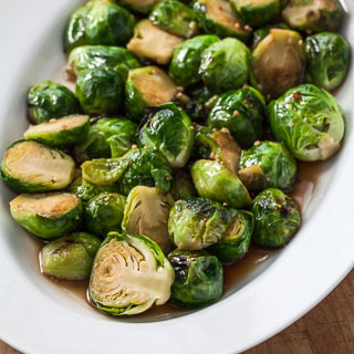 Thai Stir-Fried Brussels Sprouts (The Kids Cook Monday)