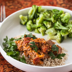 Slow-Cooker Chicken Korma Recipe - Andrea Meyers