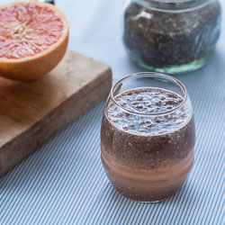 Grapefruit and Chia Drink Recipe (Chia Fresca con Toronja) - Andrea Meyers