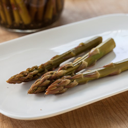 Refrigerator Asparagus Pickles Recipe - Andrea Meyers
