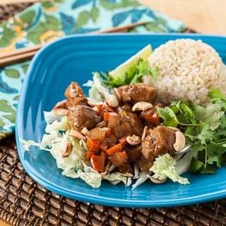 Vietnamese Caramel Pork Recipe (The Kids Cook Monday) - Andrea Meyers