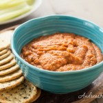 Roasted Red Pepper Cannellini Bean Dip Recipe - Andrea Meyers