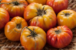 Mr. Stripe Tomatoes - Andrea Meyers