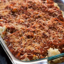 Cauliflower Casserole Recipe with Italian Sauce - Andrea Meyers