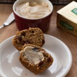 Sweet Potato and Cranberry Muffins Recipe with Maple Butter - Andrea Meyers