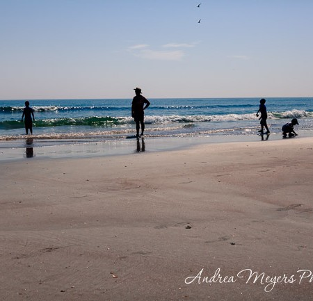 Family at the beach - Andrea Meyers