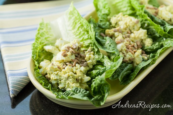 Avocado Egg Salad Recipe - Andrea Meyers