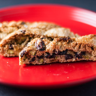 Cranberry Pistachio Biscotti – 12 Days of Cookies