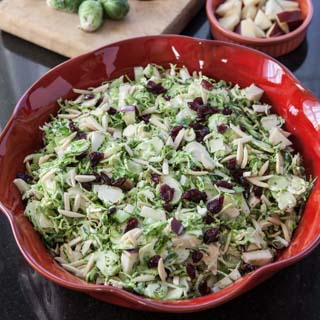Waldorf Brussels Sprout Salad