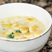 Corn Chowder with Bacon - Andrea Meyers