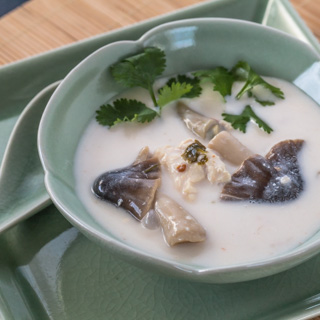 Thai Chicken Coconut Soup (Tom Kah Gai)