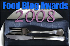 2008 Food Blog Awards logo