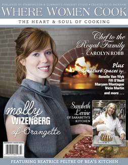 Where Women Cook cover, Spring 2011
