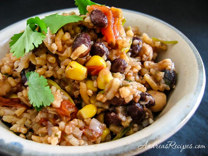 Andrea's Red Rice and Beans - Andrea Meyers
