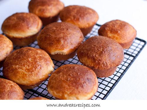 Andrea's Recipes - BBA Brioche Muffins