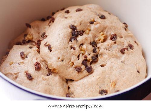 Andrea Meyers - BBA Challenge: Cinnamon Raisin Bread with Whole Wheat, dough