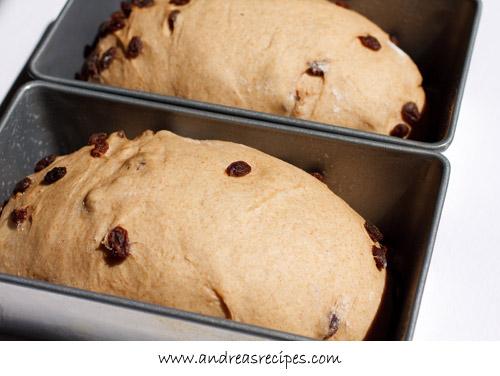 Andrea Meyers - BBA Challenge: Cinnamon Raisin Bread with Whole Wheat