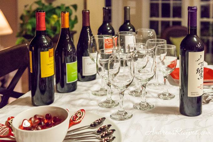 Andrea Meyers - Wine and dessert