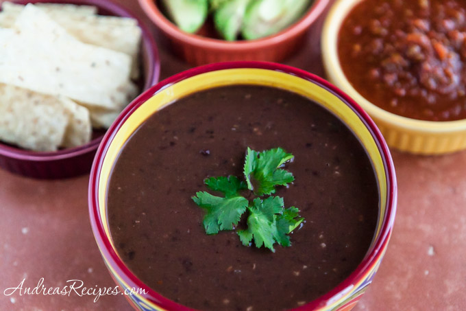 Andrea Meyers - Black Bean Soup