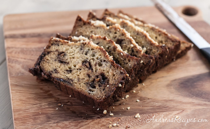 Andrea Meyers - Banana Bread with Nutella