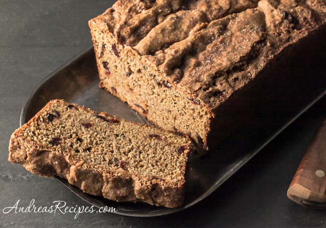 Andrea Meyers - Whole Wheat Sweet Potato Bread with Cranberries